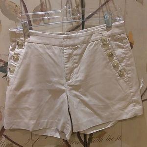 NWOT Banana Republic Sz 4 sailor shorts - X34